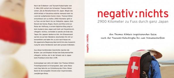 """""""Negativ: nichts"""" - das Buch"""