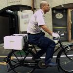 Sohn Yoshikazu auf dem Weg zum Fischmarkt.